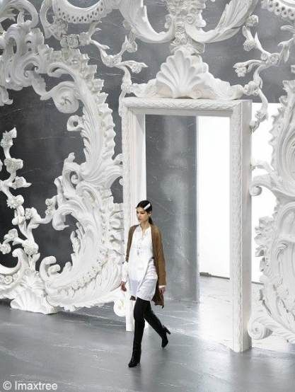 45 Trendy Ideas Fashion Show Backdrop Inspiration Exhibition Design Baroque Decor Stage Backdrop