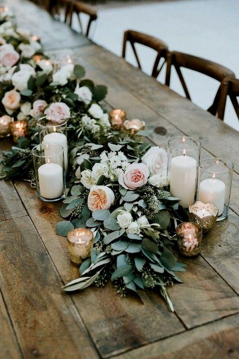 30 Budget-friendly Greenery #Wedding #Décor Concepts You Can't Pass up
