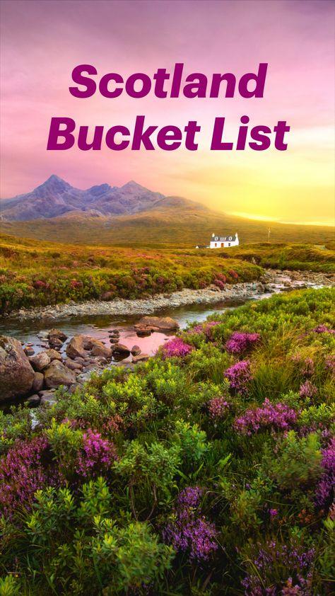Scotland Bucket List