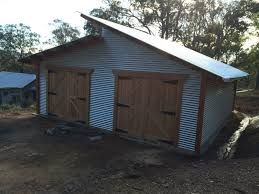 Image Result For Single Pitch Roof Garage Plans Australian Sheds Shed Homes Farm Shed