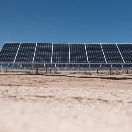 Picture Taken On January 23 2015 Of The Pv Salvador Solar Plant Near El Salvador In The Atacama Desert Northern Chile The P Solar Solar Energy Photovoltaic