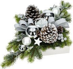 Stroik Bozonarodzeniowy Swiateczny 50cm Na Stol S4 7038894323 Oficjalne Archiwum Allegro Christmas Floral Arrangements Christmas Flower Arrangements Christmas Arrangements