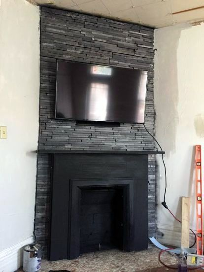 3 Myths About Mounting Tvs Over Fireplaces Framed Tv Tv Over