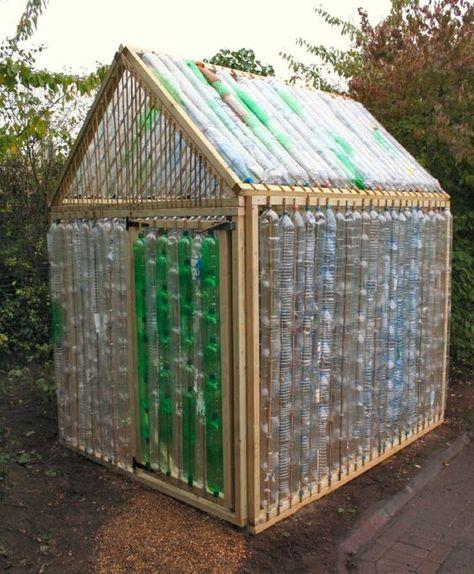 kleines gew chshaus selber bauen mini treibhaus aus plastikflaschen gew chshaus selber bauen