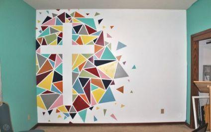 Trendy Simple Art Projects For Teens Diy Fun Ideas Youth Room Church Kids Church Decor Kids Church Rooms