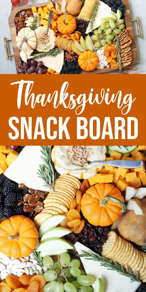Make this Thanksgiving Snack Board for your holiday entertaining. Sweet and savory snacking option for your guest with this snack board. thanksgiving Thanksgiving Snack Board - Passion For Savings Thanksgiving Cookies, Thanksgiving 2020, Thanksgiving Appetizers, Thanksgiving Decorations, Thanksgiving Platter, Halloween Decorations, Fall Birthday Decorations, Healthy Thanksgiving Recipes, Thanksgiving Crafts For Kids
