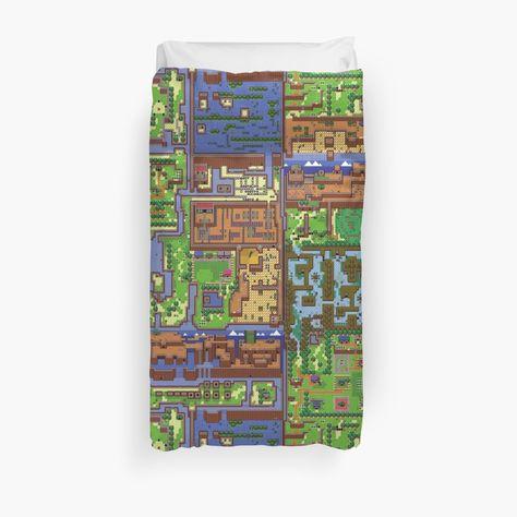 Legend Of Zelda Link S Awakening Map Duvet Cover Products