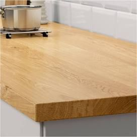Ikea Mollekulla Oak Countertop 98x1 1 2 Kitchen Remodel Countertops Outdoor Kitchen Countertops Ikea Butcher Block