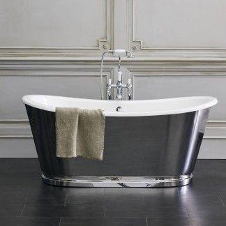 Burlington Balthazar Double Ended Bath 1675x761mm N25cs Burlington Badezimmer Baden Zimmer