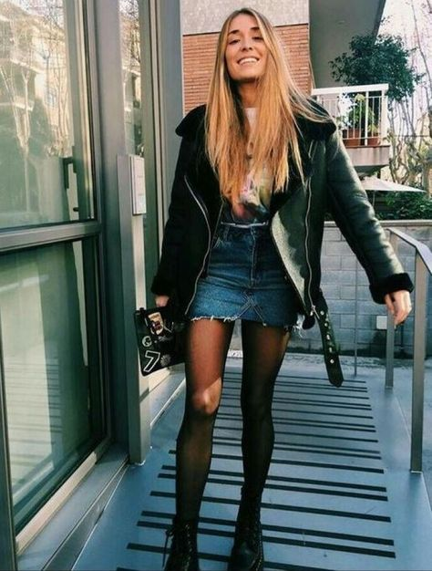 30 Fashionable Edgy Outfit for Going Out