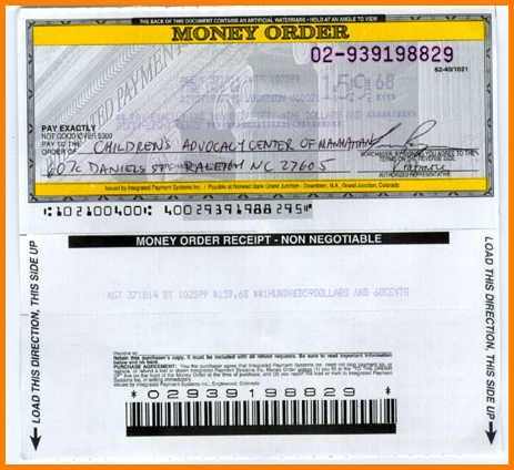 Money Order Template Cash Flow Statement Fake Money Told You So