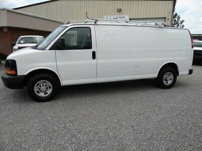 Ebay Advertisement 2014 Chevrolet Express 3500 Extended Cargo Van
