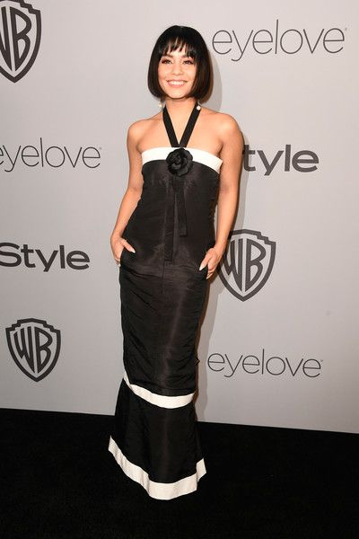 Actor Vanessa Hudgens attends the 19th Annual Post-Golden Globes Party hosted by Warner Bros. Pictures and InStyle.
