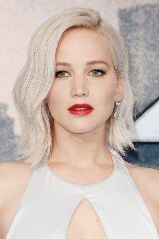 Long Bob Das Sind Die Schonsten Long Bob Frisuren 2020 Jennifer Lawrence Hair Jennifer Lawrence Blonde Platinum Blonde Hair