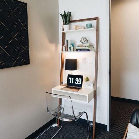 Ladder Shelf Desk