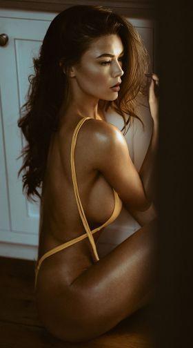 Womens Yandy Salty Senorita String Bikini Bottom