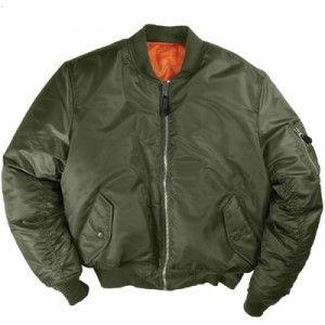 MA 1 Flight Jacket | Flight jacket, Mens outdoor jackets