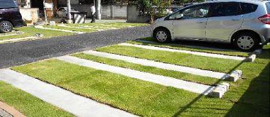 駐車場緑化 屋上緑化 ヒートアイランド 駐車場