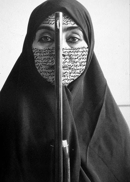 Neshat Shirin, REBELLIOUS SILENCE (FROM WOMEN OF ALLAH SERIES), 1994