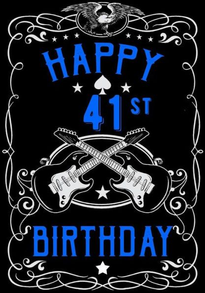 Happy 41st Birthday Birthday Gifts For Men Birthday