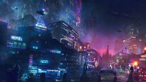Futuristic City Wallpaper