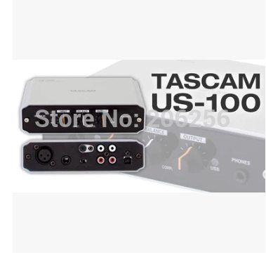 TASCAM US-100 Free Driver Audio Interface Portable USB 2 0 sound