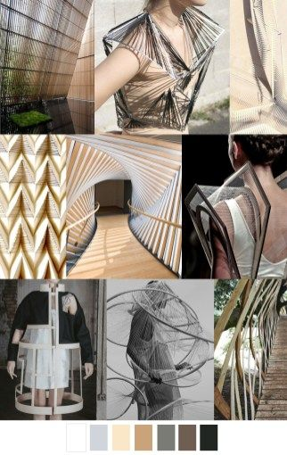 F/W pattern & colors trends: structural design art