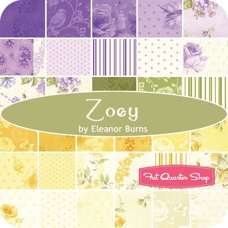 Purple Stripe Zoey Christine by Eleanor Burns HALF YARD