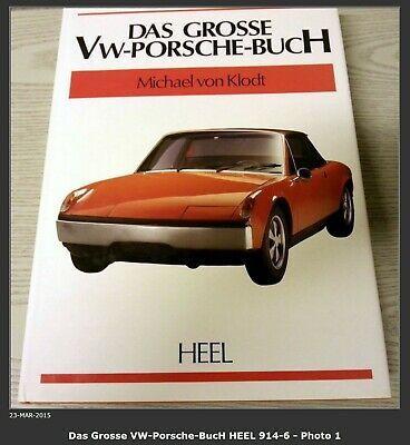 Advertisement Ebay Das Grosse Vw Porsche Buch By Heel 914 6 914 6