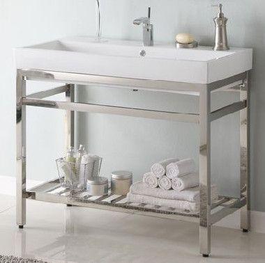 Image Result For Mirabelle Console Sink Bathroom Vanities Without Tops Modern Bathroom Vanity Single Bathroom Vanity