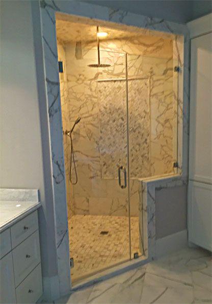 Custom Frameless Shower Door By Art Glass By Wells Www Artglassbywells Com Frameless Shower Doors Frameless Shower Shower Doors