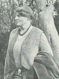 Dion Fortune, undated photo- British psychiatrist, occultist, author. Very interesting woman.