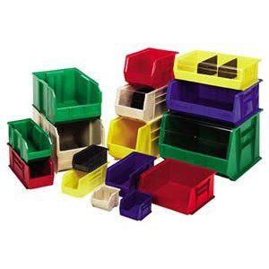 Quantum Bin Ultra Stack Hang Green 14 3 4 Storage System Plastic Box Storage Plastic Bins