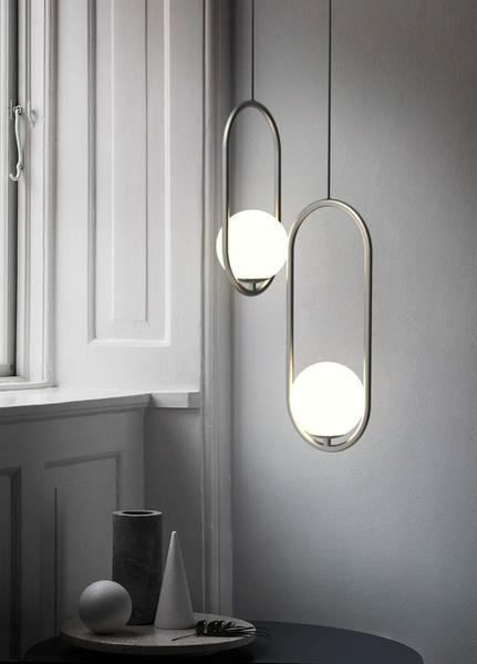 Fausta Modern European Design Hanging Pendant Lamp Hanging