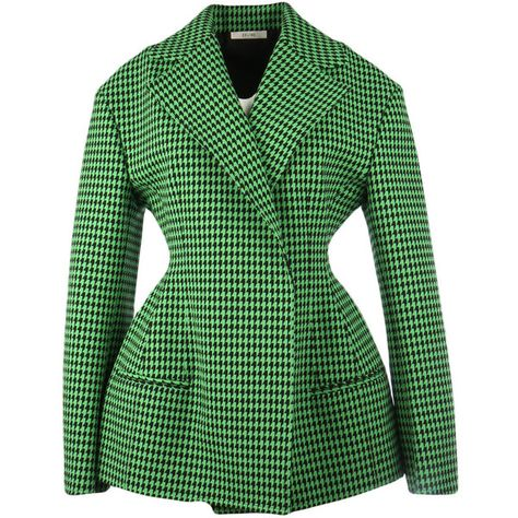 Celine Jackets ($2,190) ❤ liked on Polyvore featuring outerwear, jackets, green, green jacket and celine jacket