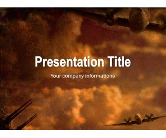 The Template Is Suitable For Presentations About Wwii Powerpoint Templates Templates Powerpoint