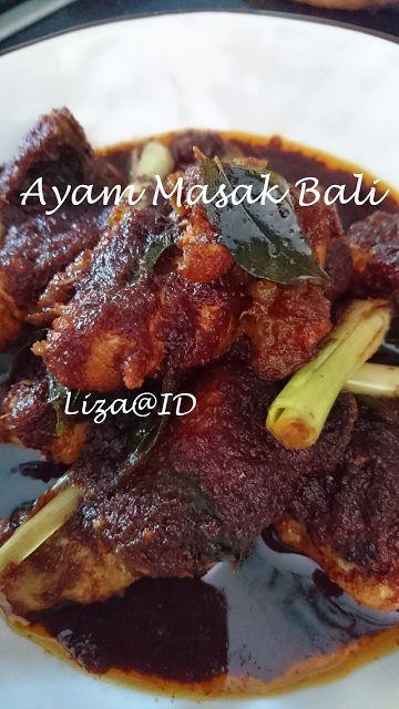 Intai Dapur Ayam Masak Bali Resep Masakan Pedas Resep Masakan Malaysia Resep Ayam