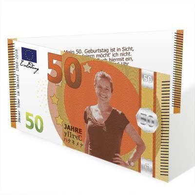 Witzige Einladungen Fur Den Geburtstag Im Design Eines Geldscheines Ab 0 80 Euro Exklusiv Bei Pixel Kiste Kartendesign Dru In 2020 Geburtstag Geldscheine Einladungen