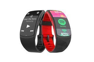 Smart Tech Word Samsung Gear Fit2 Pro Smart Fitness Band Large Samsung Gear Fit 2 Samsung Samsung Gear Fit