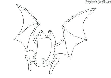 Zubat Pokemon Drawing Pokemon Coloring Pokemon Coloring Pages Zubat Pokemon