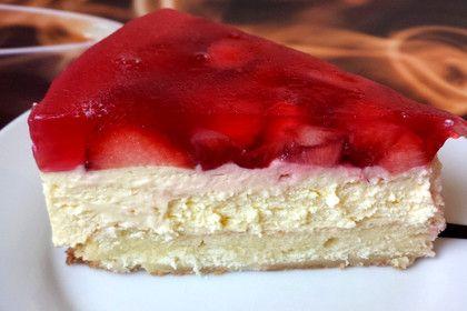 Biskuit Mit Keksboden Fur Obstkuchen Rezept Kuchen Erdbeerkuchen Erdbeerkuchen Mit Schmand