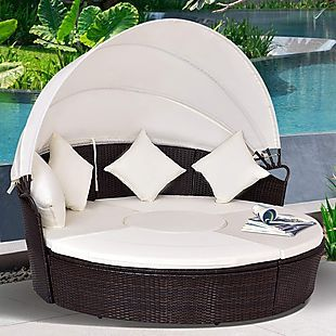 Brad S Deals Exclusives From Brad S Deals Round Sofa Wicker Daybed Patio Daybed