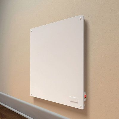 Wall Mount Convection Space Heater Quiet Electric Energy Efficient Heat Panel White Wall Paneling Wall Paneling Space Heater