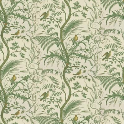 Brunschwig Fils Bird And Thistle Green Wallpaper Decoratorsbest In 2021 Thistle Wallpaper Toile Fabric Upholstery Fabric Online Bird and thistle wallpaper green