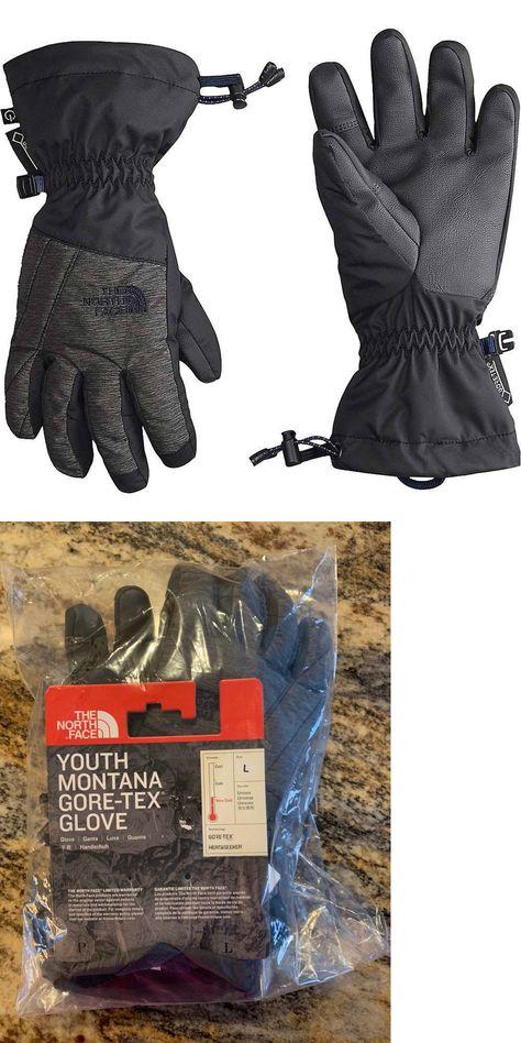 6-10 Size Medium Head Junior Jr Girls Insulated Ski Gloves