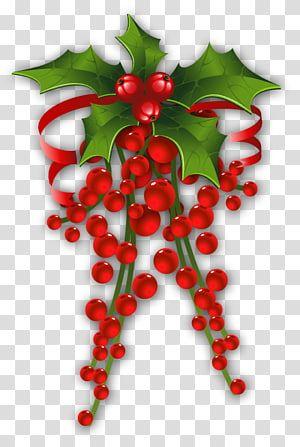 Red Christmas Decor Illustration Christmas Decoration Mistletoe Mistletoe Decor Tran Red Christmas Background Christmas Decorations Christmas Ornament Frame
