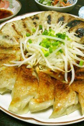 餃子 肉汁 レシピ