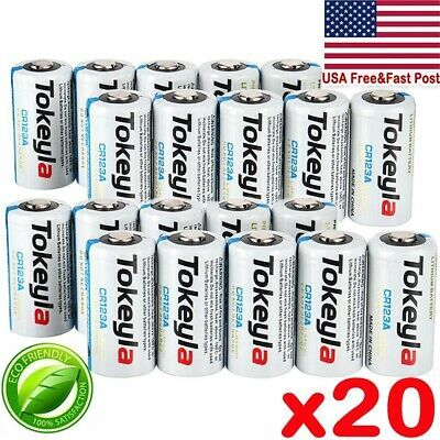 Details About 20pc Tokeyla 3v Cr123a 123a 123 Cr17345 3 Volt Lithium Batteries For Camera In 2020 Consumer Electronics Toy Camera Button Cell