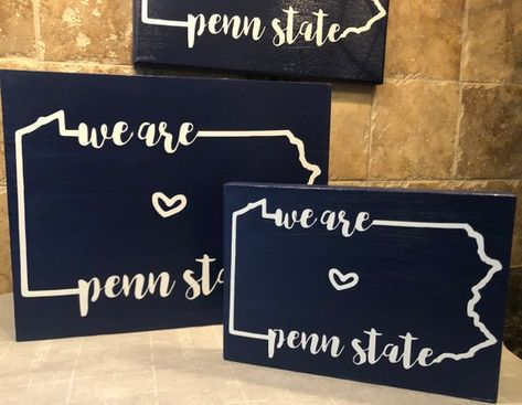 Penn State sign - We are Penn State decor - PSU gifts