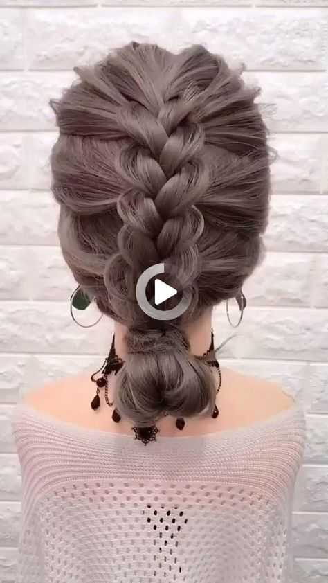 Simple Hairstyle-Cute Hairstyle Idea-Tutorial